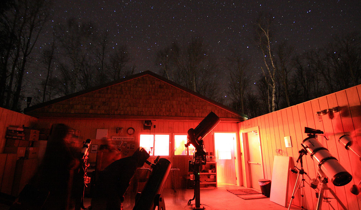 The Adirondack Public Observatory, Tupper Lake (Marc Staves Photo)