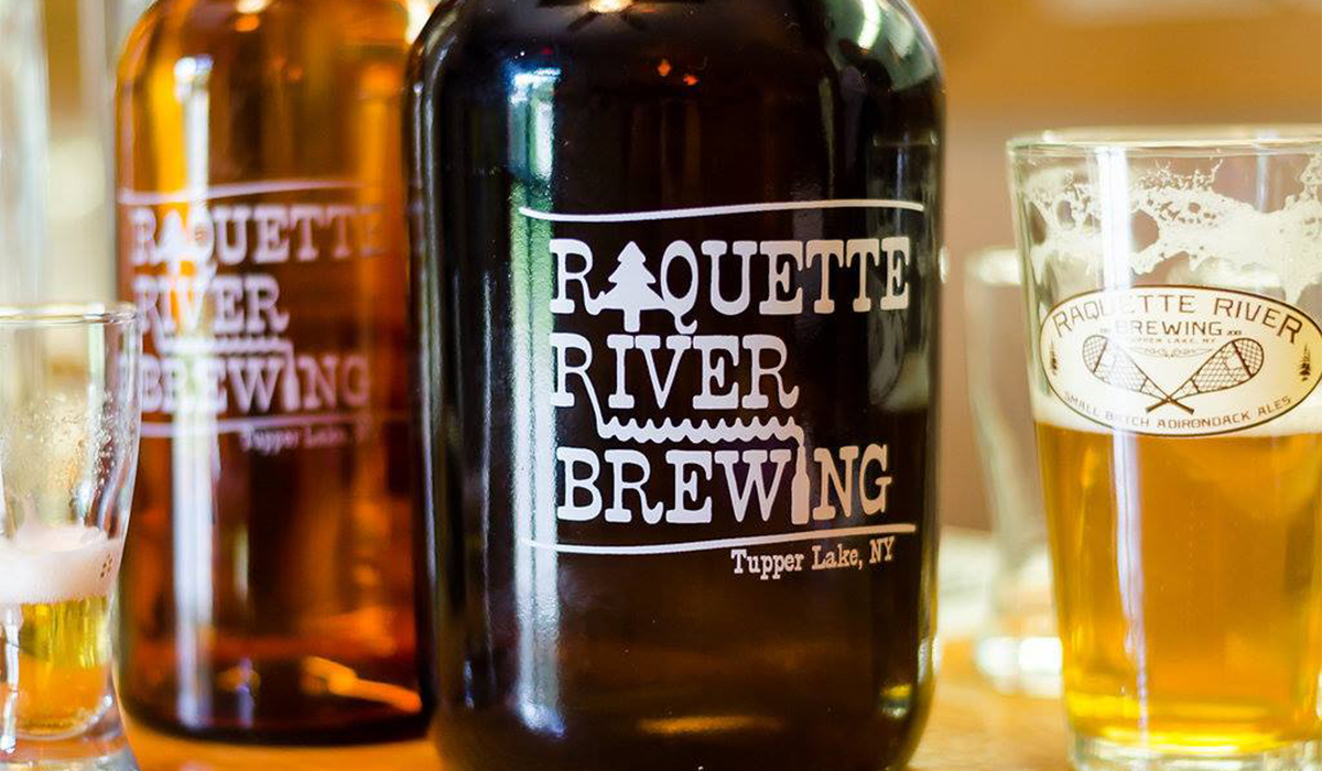 Raquette River Brewing Growlers & Ales (Raquette River Brewing image)