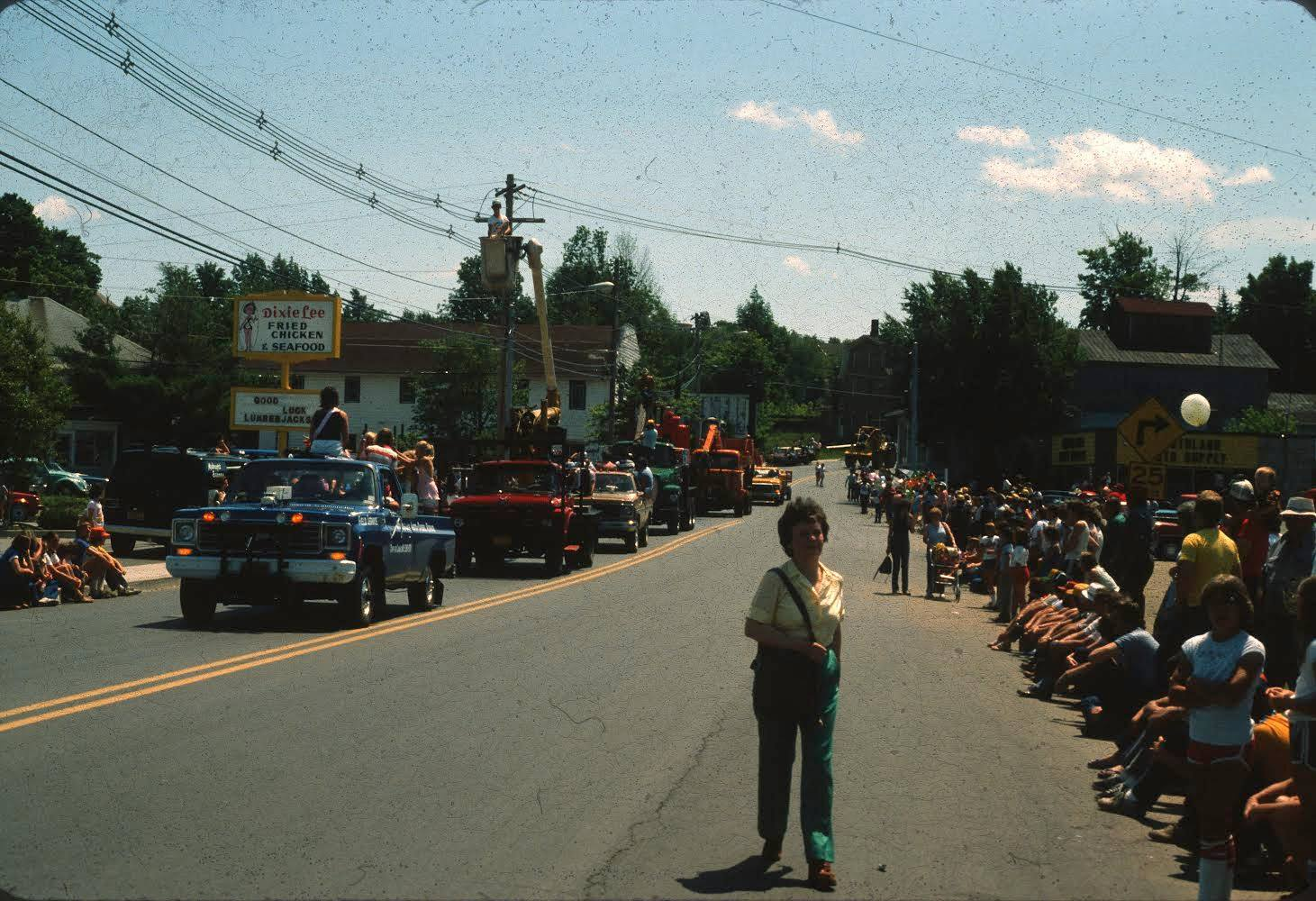 1980's Tupper Lake Woodsmen's Days throwback photo