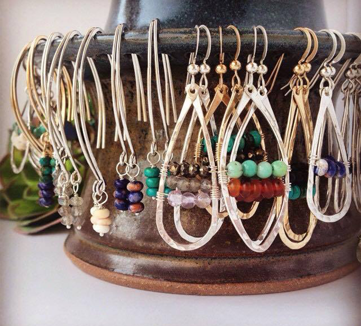 Earth Girl Designs jewelry created by Tupper Lake native, Rachael King. (photo provided)