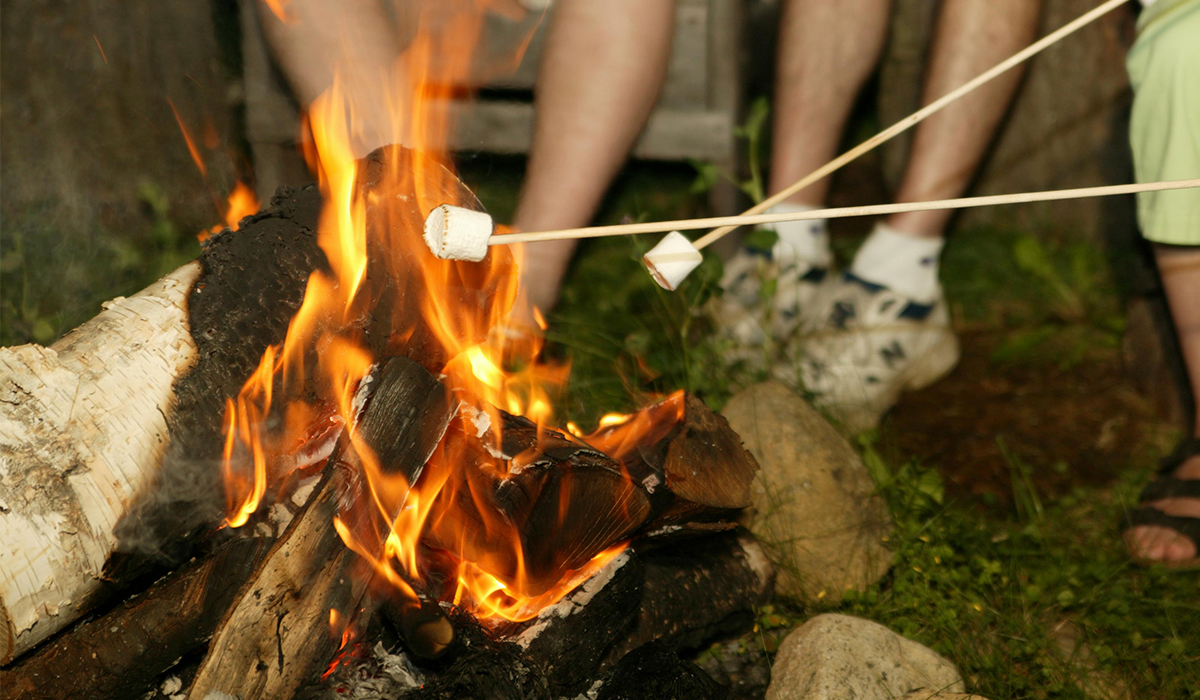 What is your favorite way to make a s'more?