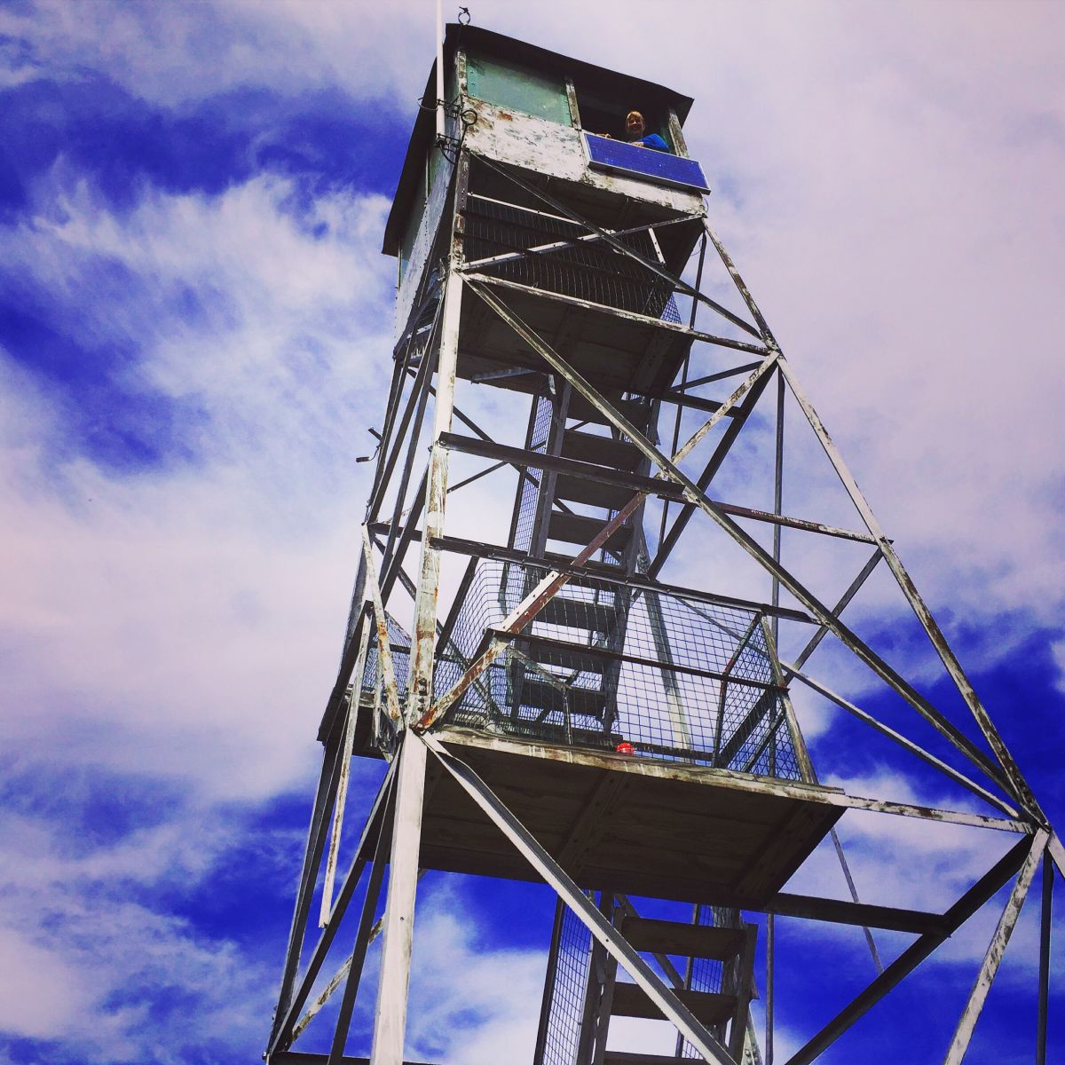 "The fire tower at the top of Mount Arab is definitely worth checking out. As noted by my mom, ""You feel like you're on top of the world!"""