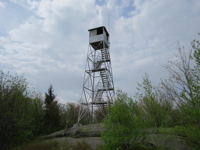 Mount Arab A Fire Tower Peak And Museum Tupper Lake