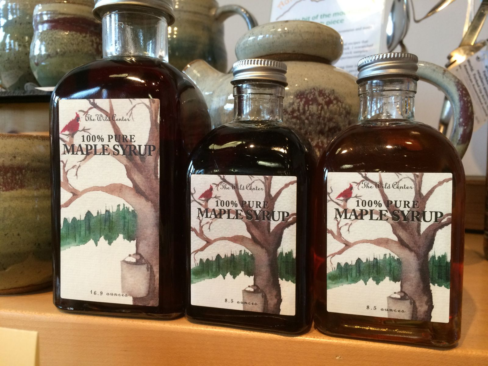 Wild Center 100% Pure Maple Syrup