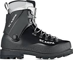 An example of plastic mountaineering boot