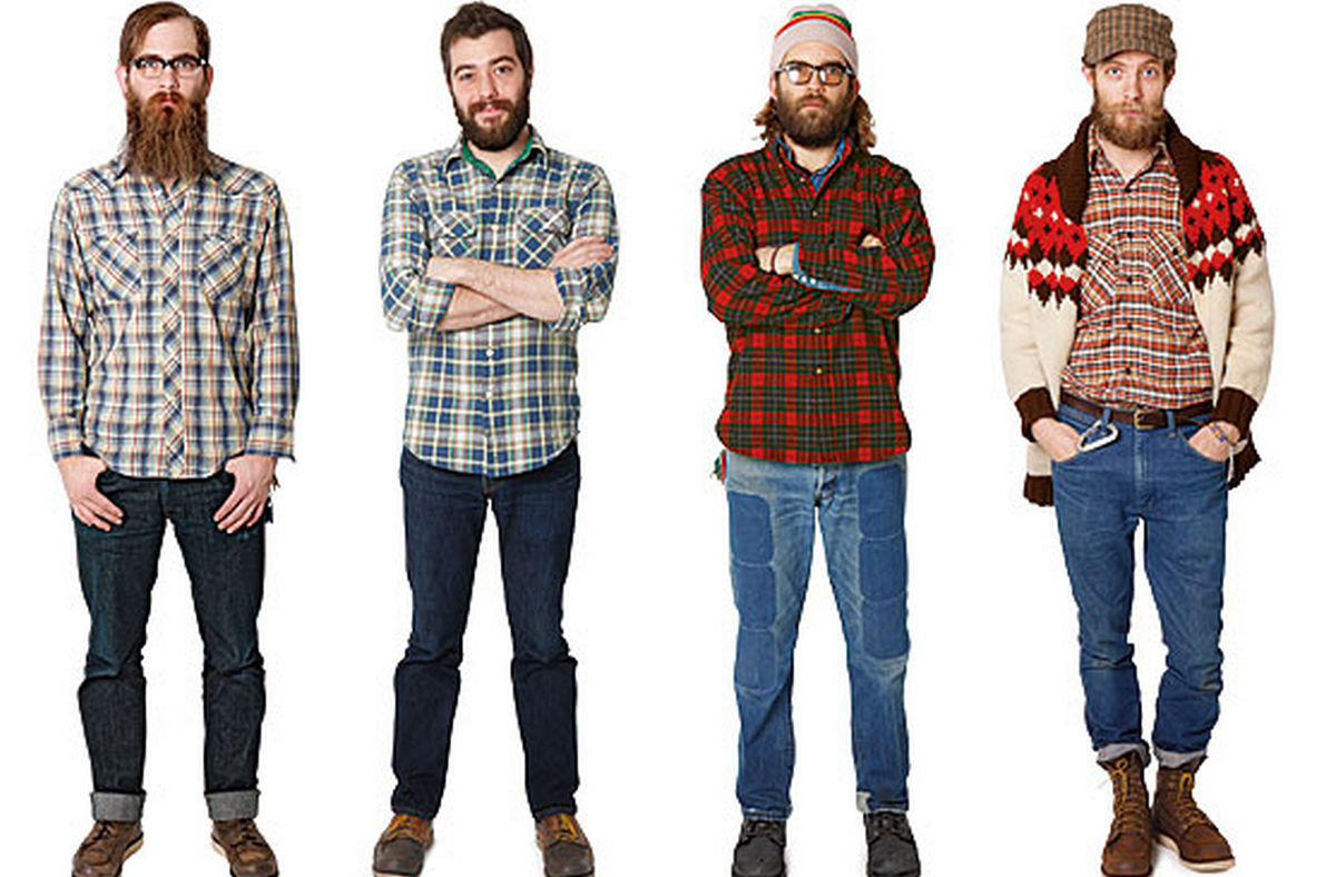 """Gear Junkie's header image from """"The Rise of the Lumbersexual"""" - October 2014"""