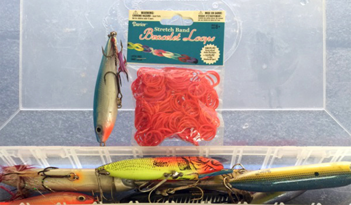 Keep your tackle box organized!