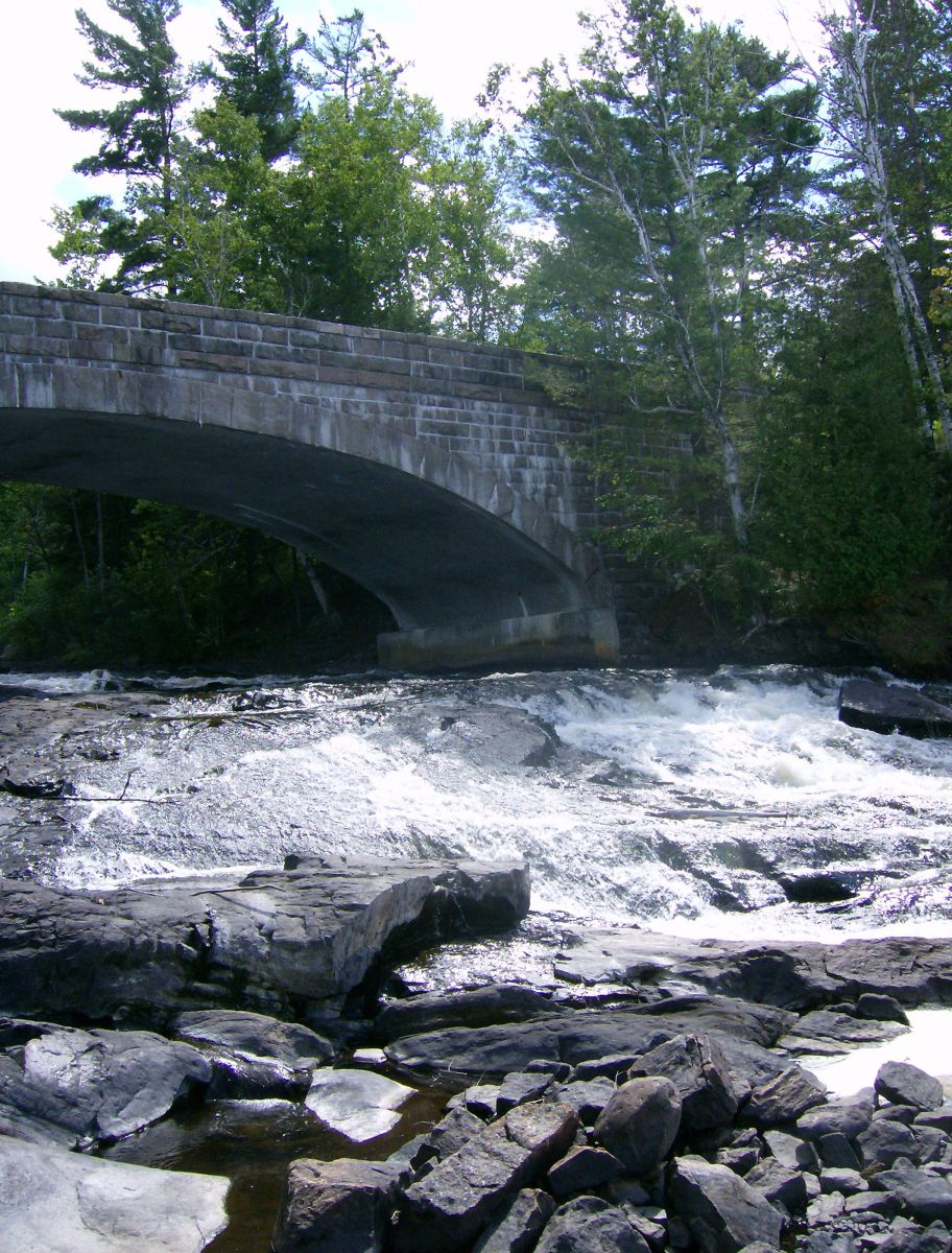 Stone Bridge over the Bog River