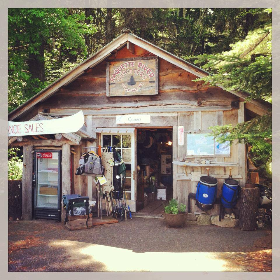 The Raquette River Outfitters shop located at 1754 State Route 30 in Tupper Lake