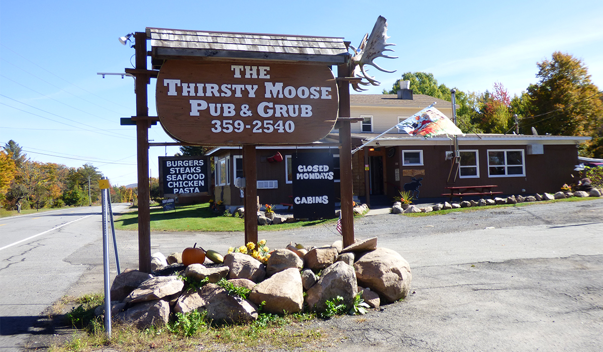 The Thirsty Moose Pub & Grub in Childwold, NY