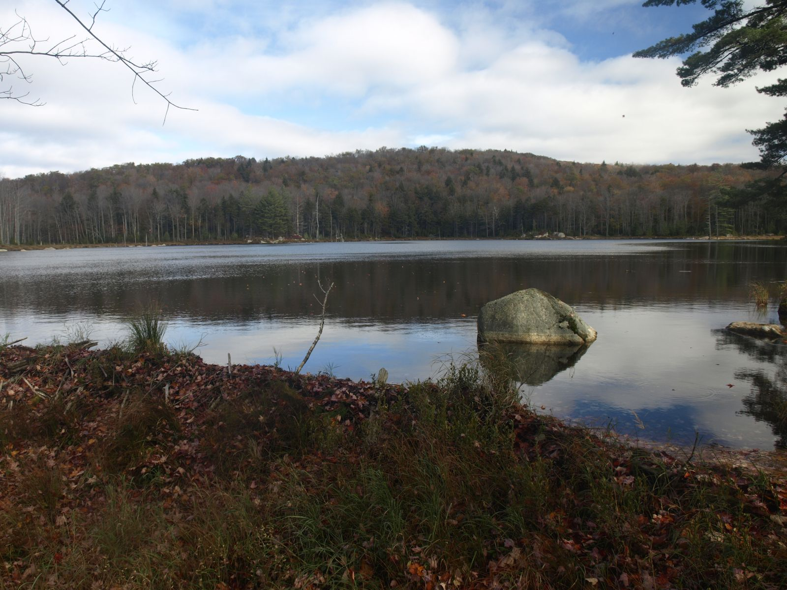 Curtis Pond and East Mountain