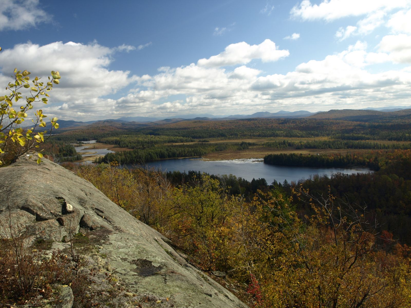 Autumn view from the overlook