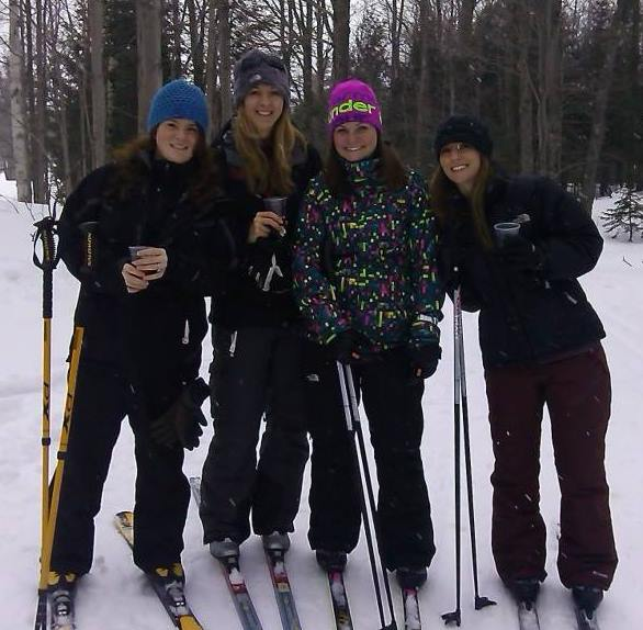 My friends and I at the First Annual Brew Ski Event