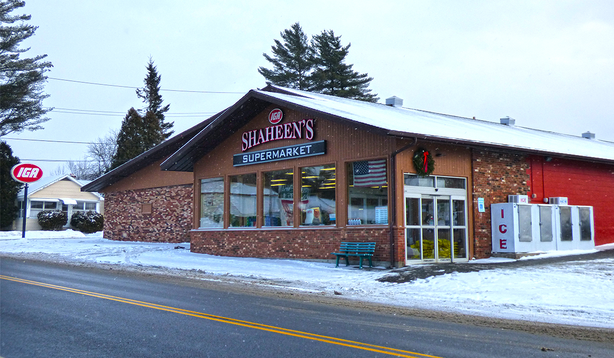Shaheen's IGA - Our hometown grocer located at 252 Park Street in Tupper Lake, NY.