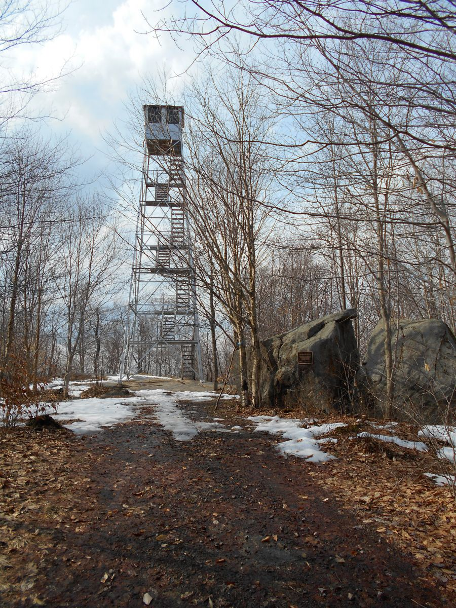 Cathedral Rock fire tower