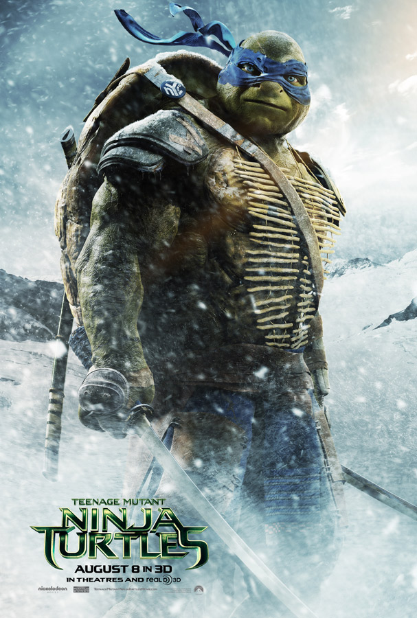 Paramount Pictures films TMNT on Tupper Lake's hometown slopes.