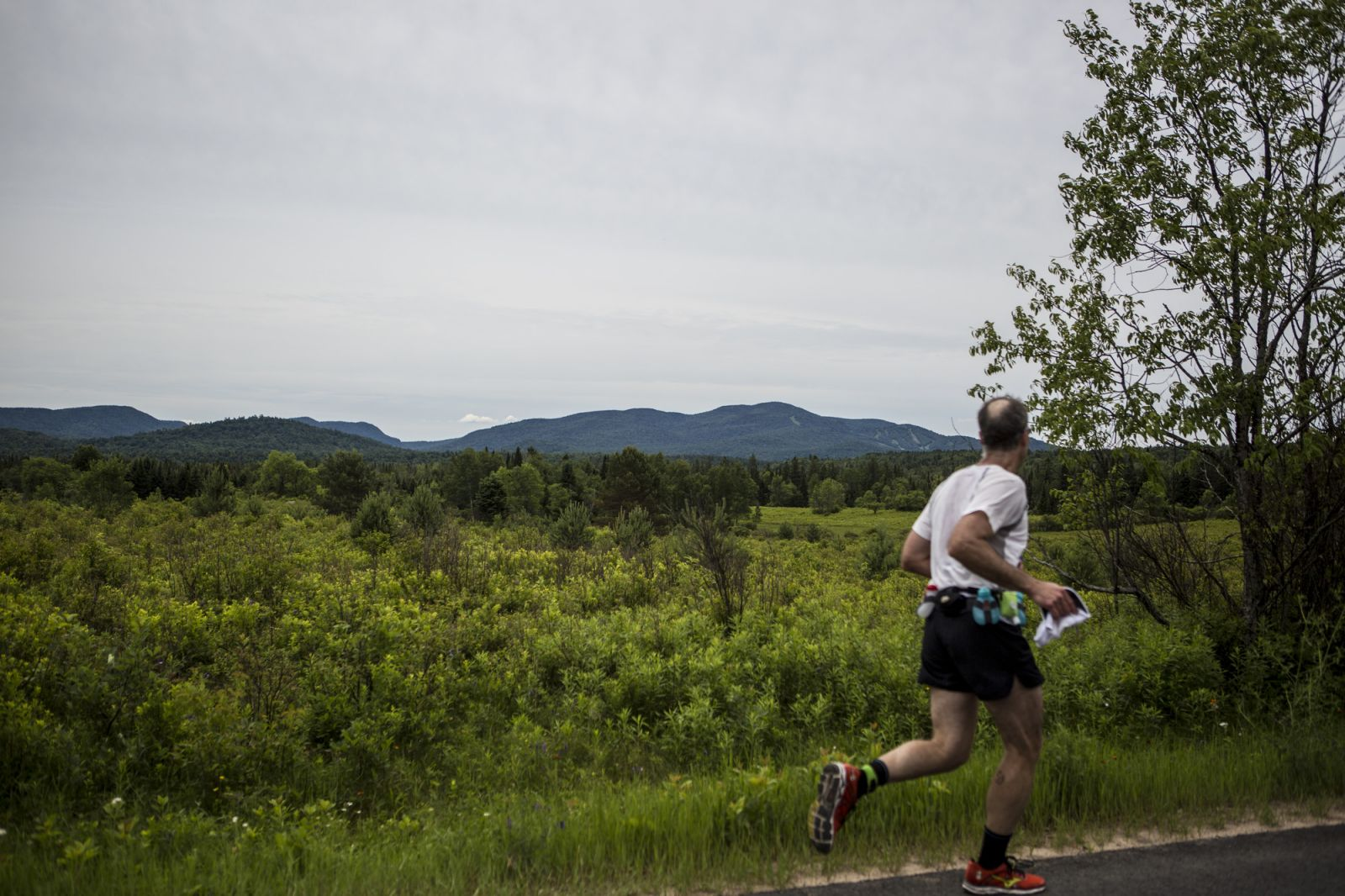 The flatter scenic bike course helps you look forward to a more aggressive run.