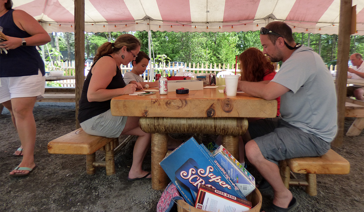 Family game time! One of my favorite things about Raquette River Brewing is the atmosphere. Patrons will experience a laid back, family-friendly setting that is truly Adirondack!