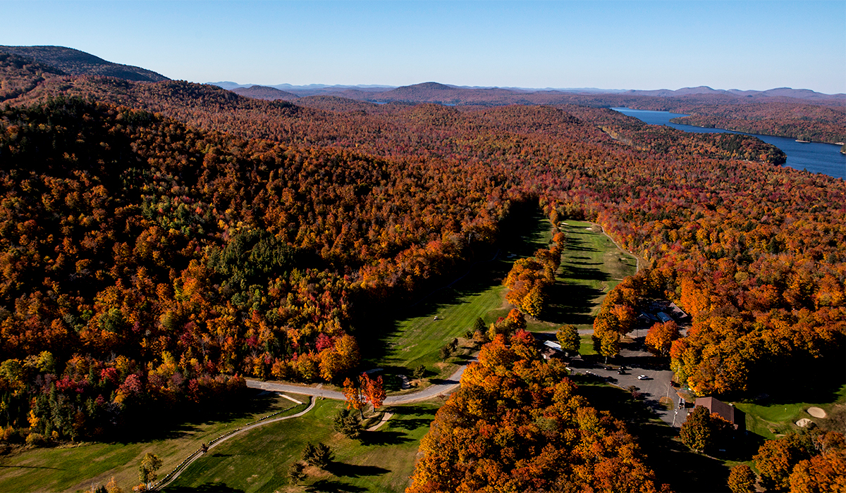 Enjoy a round or two this fall at the Tupper Lake Golf Club.