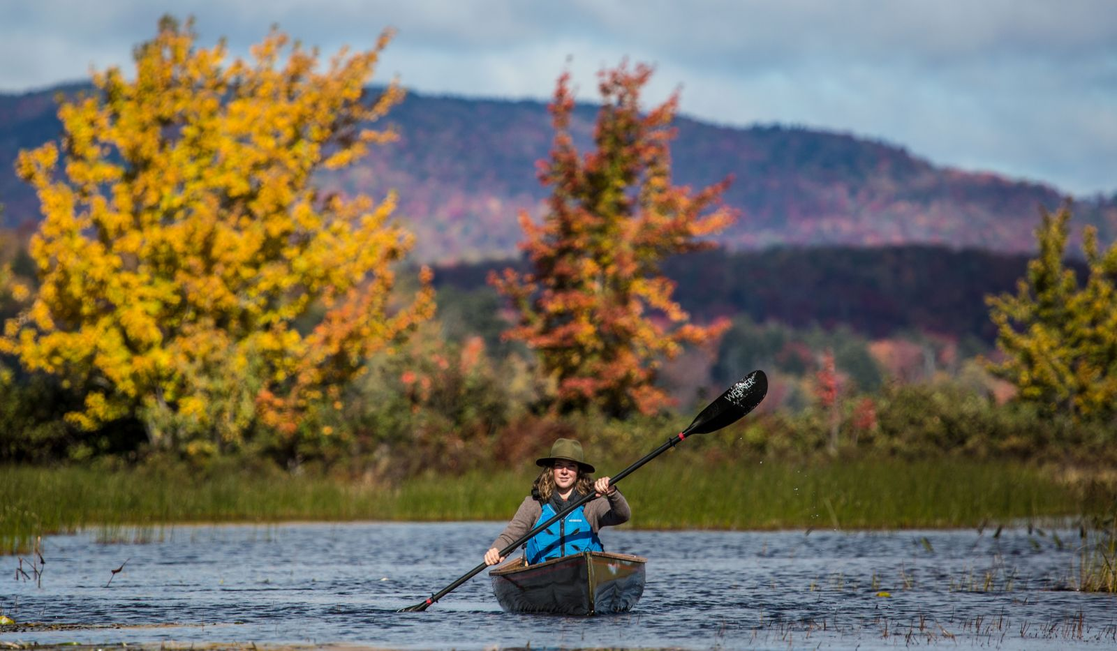 Fall in love with paddling this fall.