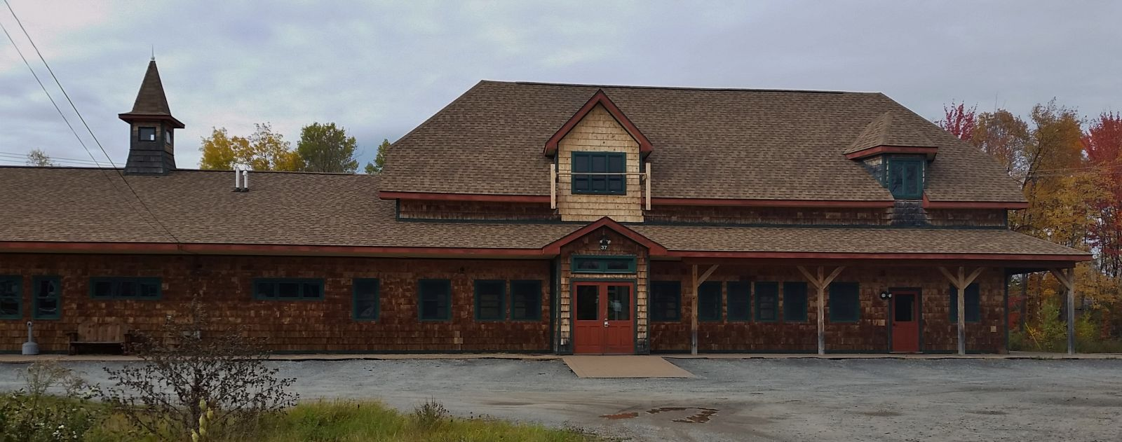 Tupper Lake Train Station - used for events!