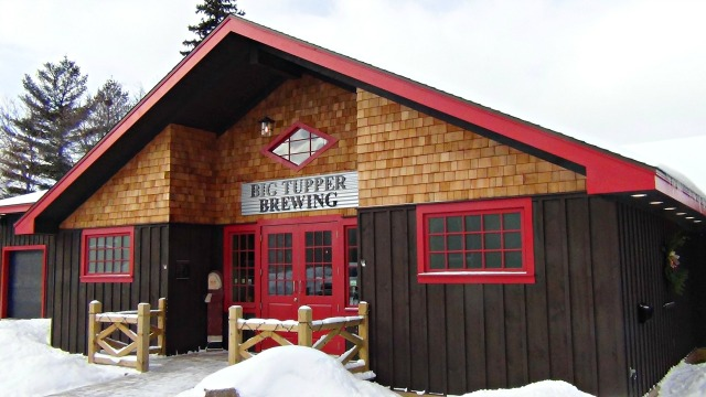 Big Tupper Brewing has an expansive space in a previous pub.