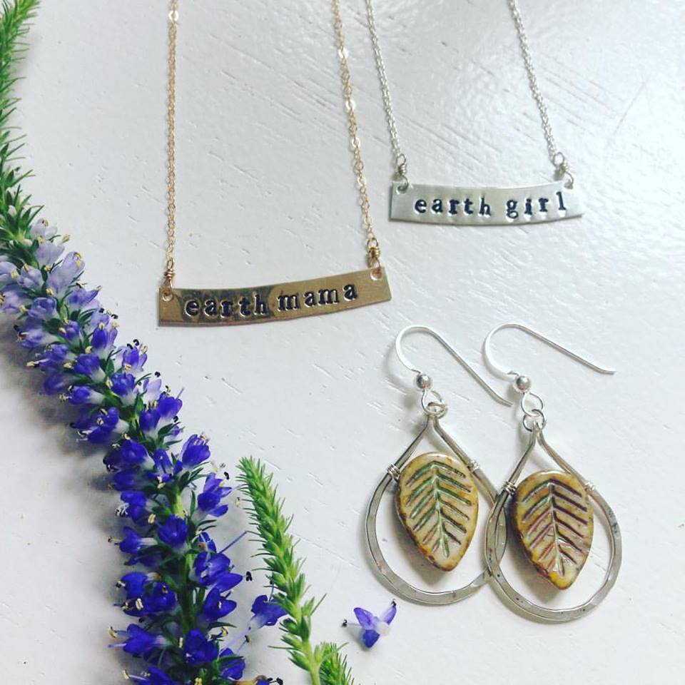 A love of nature is the inspiration for jewelry designs by Earth Girl.