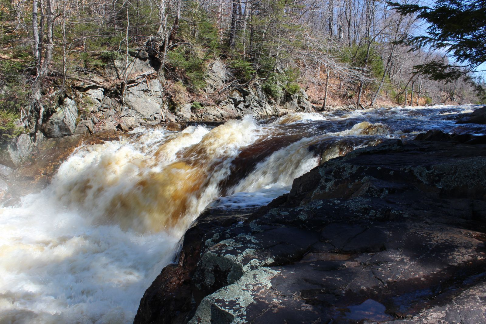 It pays to explore the Grass River past Copper Rock Falls.