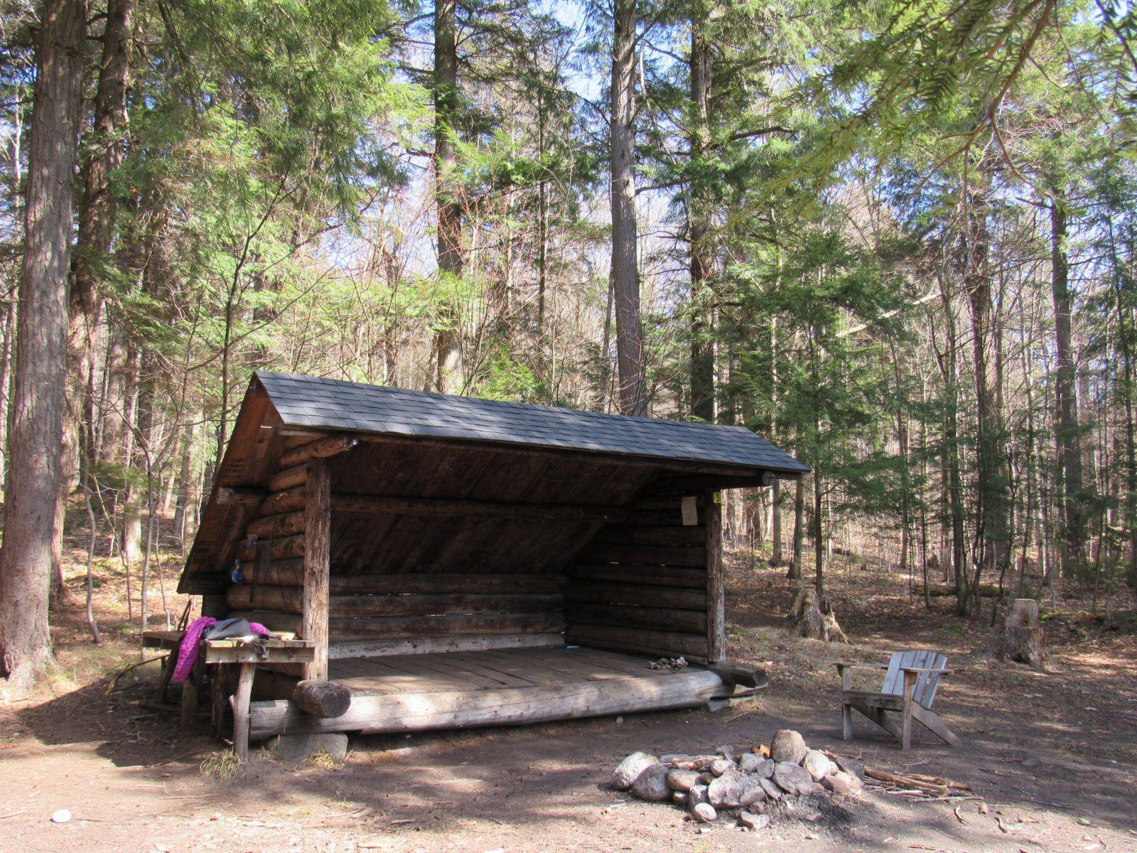 Lean-to #5  - great site!