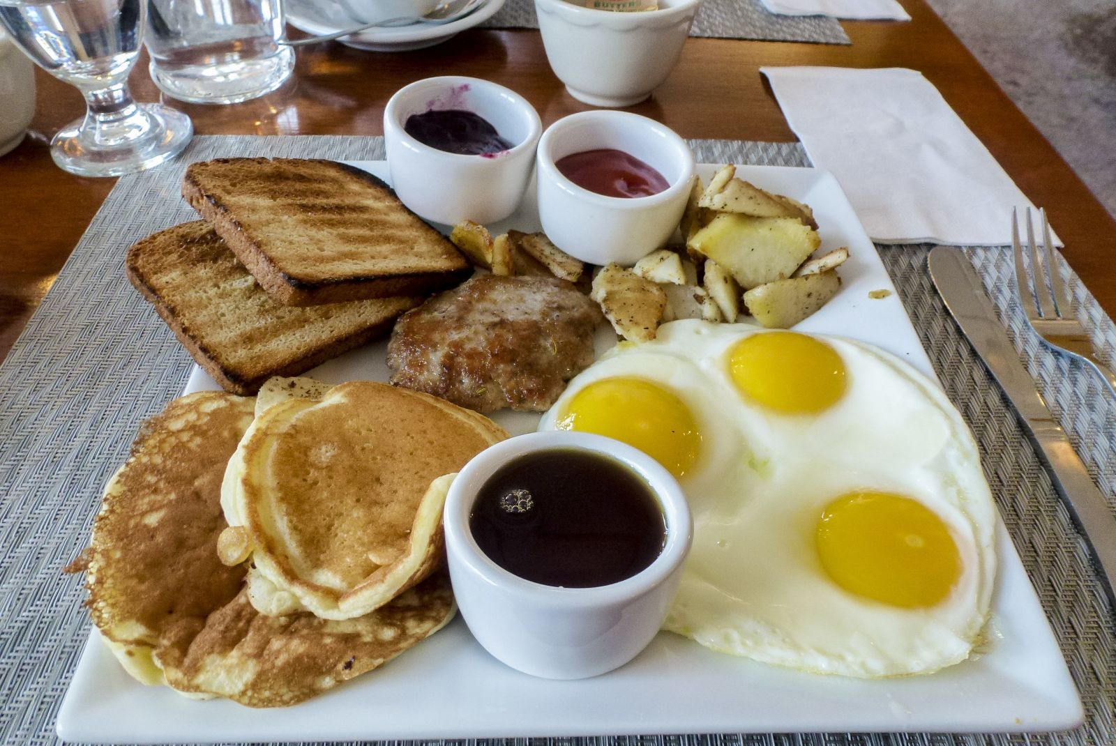 Amado's breakfast won't leave you hungry!