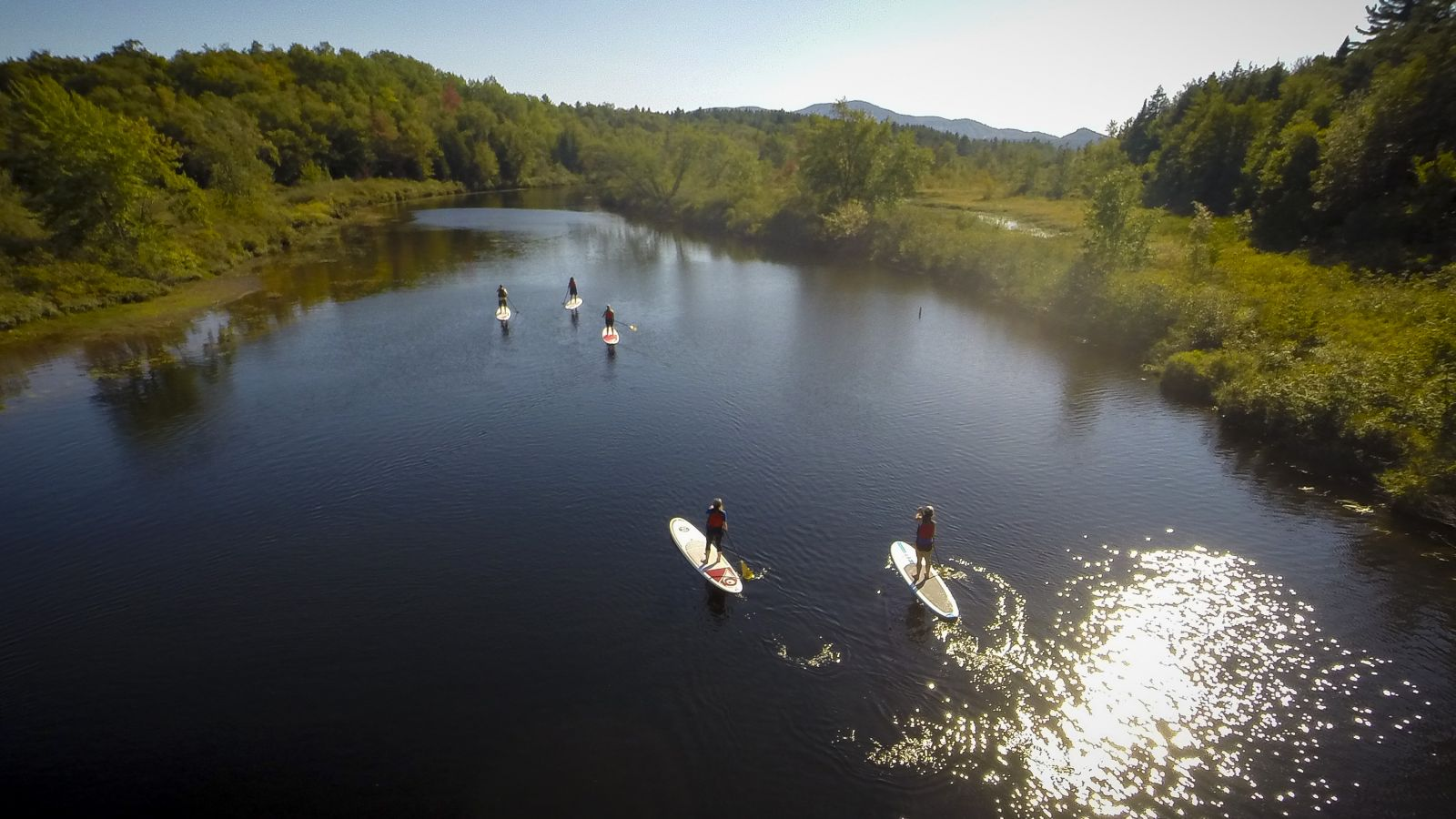 What's SUP? A paddling day on the Raquette, that's what! (Wild Center photo)