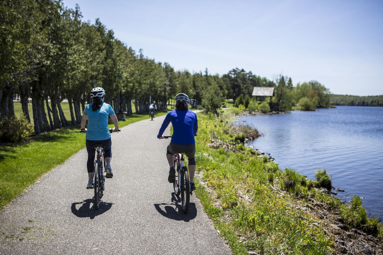 Municipal Park is a great place for biking.