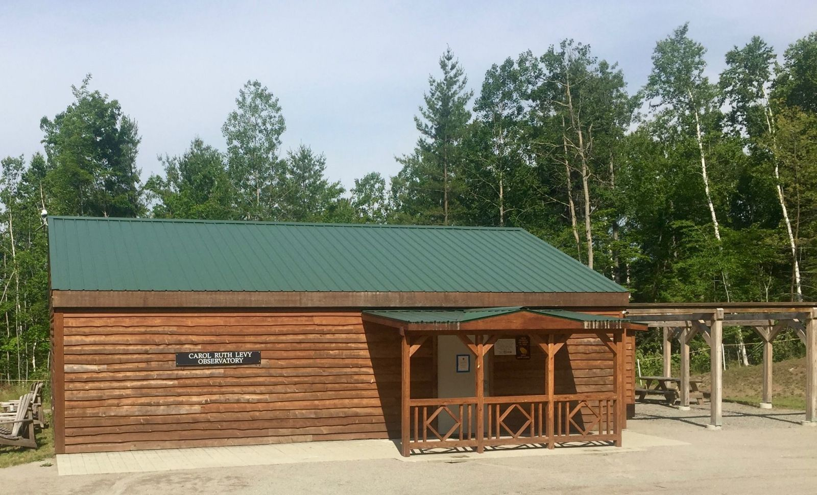 The roll-off roof observatory. Photo: Adirondack Public Observatory