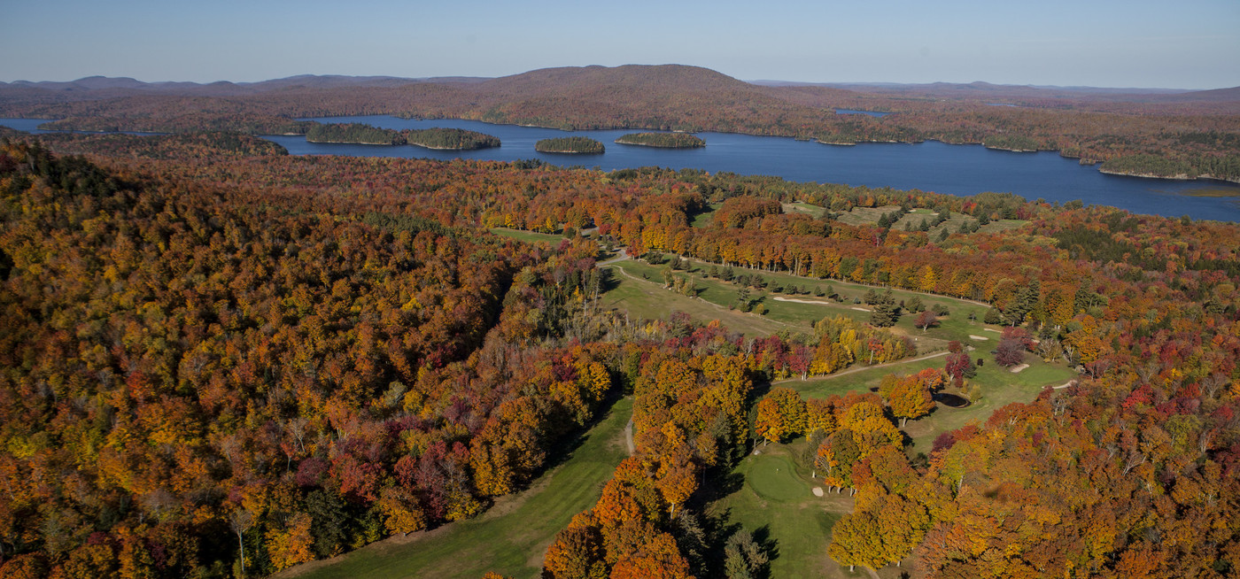 Spectacular Tupper Lake in fall