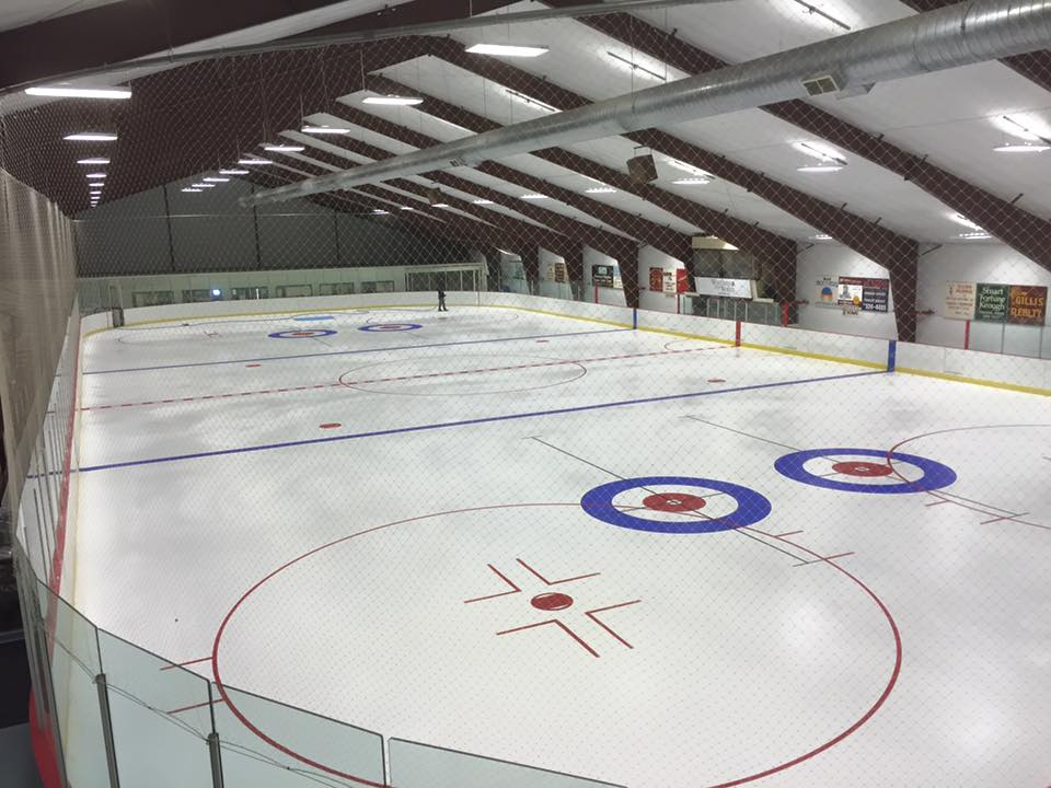 The ice is in!