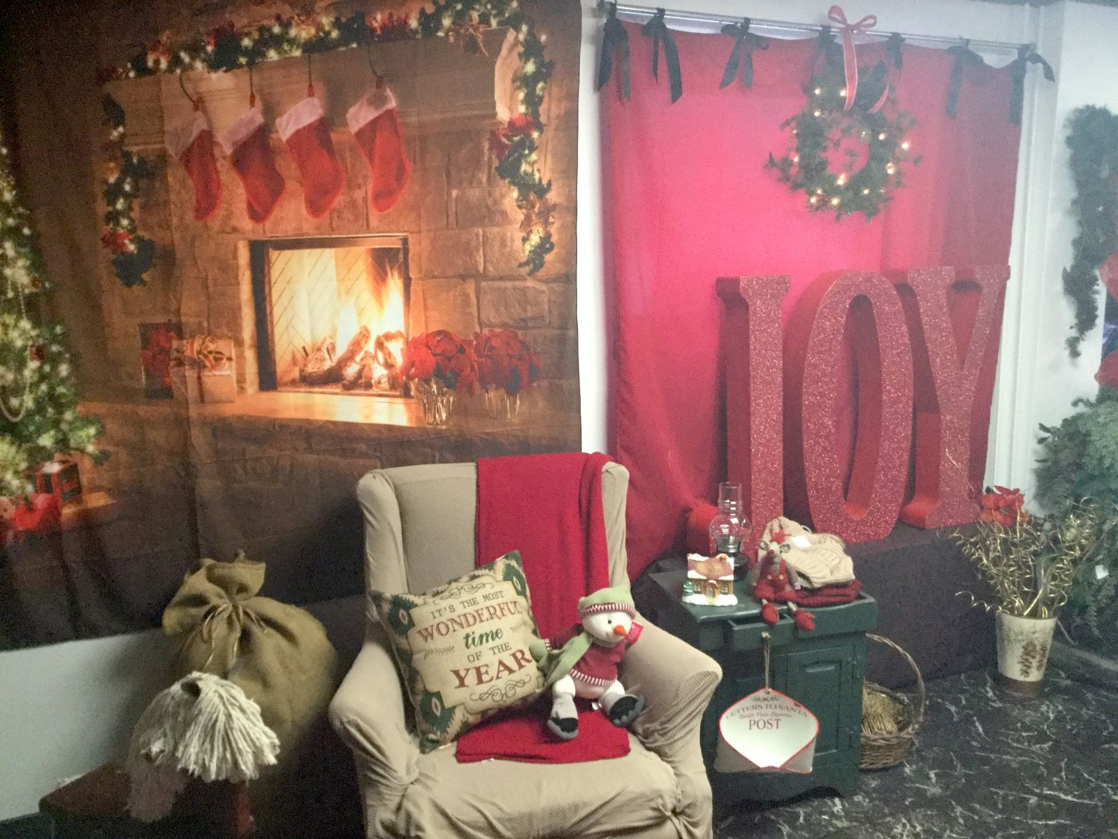 Cabin Fever has created their own Christmas Room with ornaments, decor, and gifts just for the holiday season.