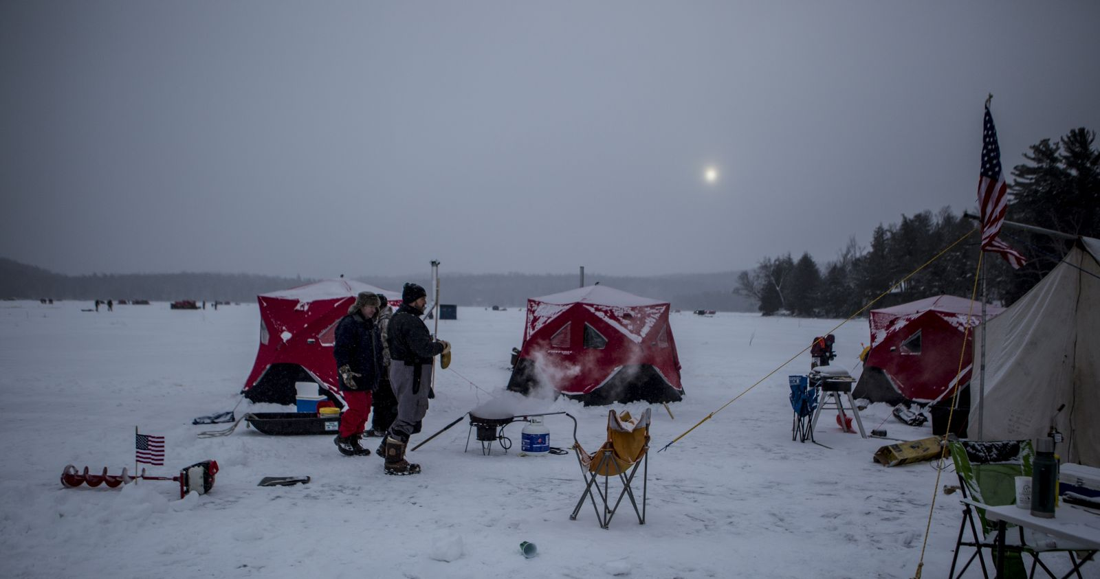 A glimpse of Simon Pond during The Northern Challenge