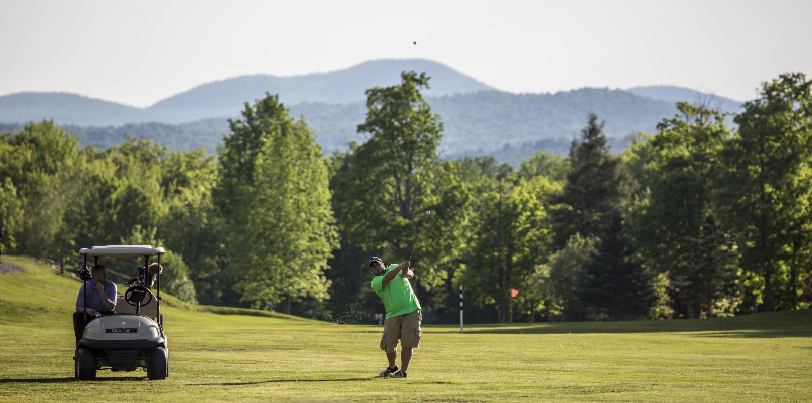 There's no shortage of beauty at the Tupper Lake Golf Course.