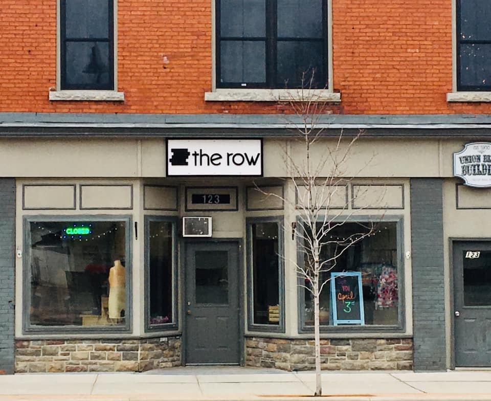 The Row's new storefront.
