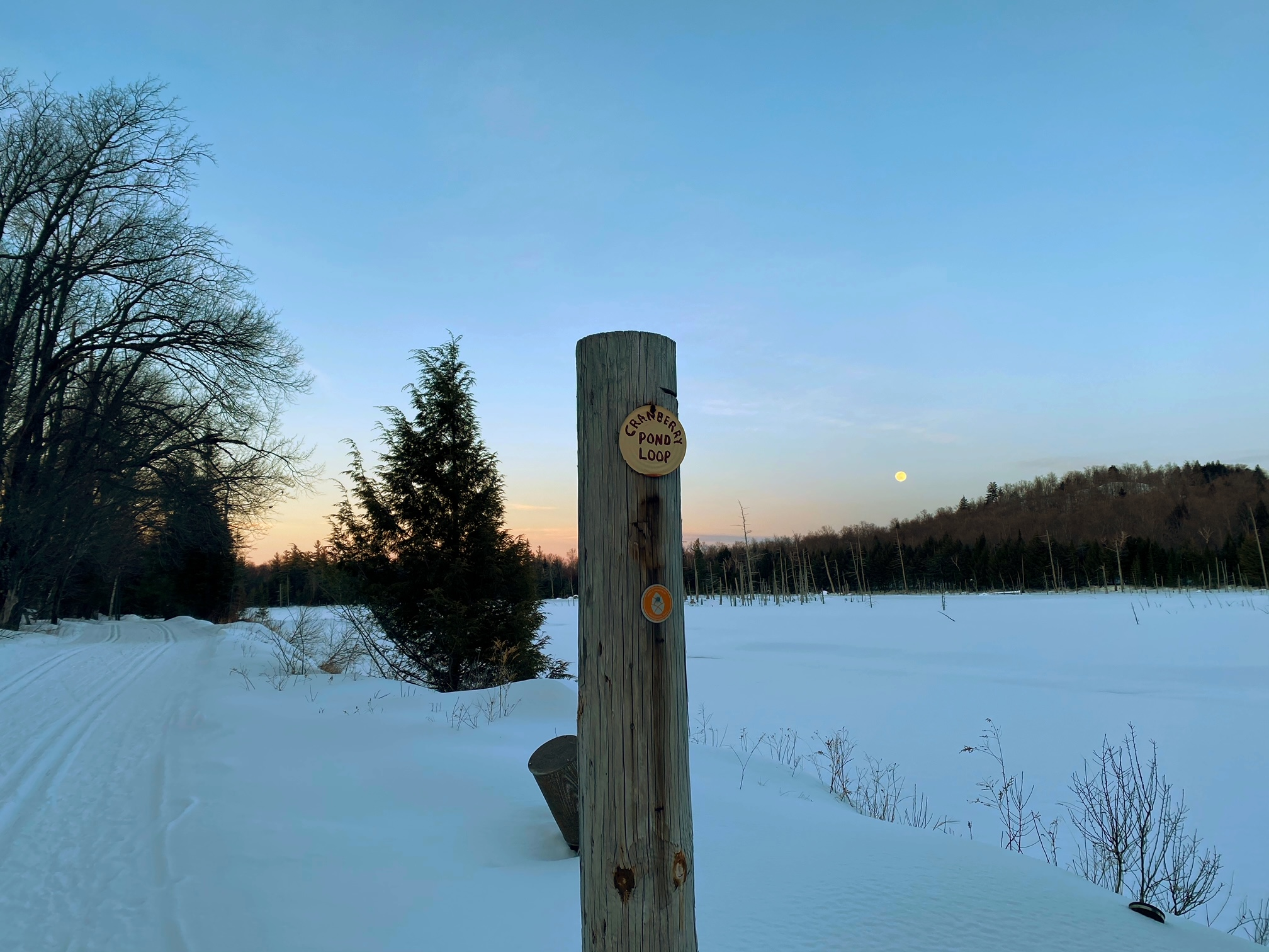 Beautiful views along the Cranberry Pond Trail.