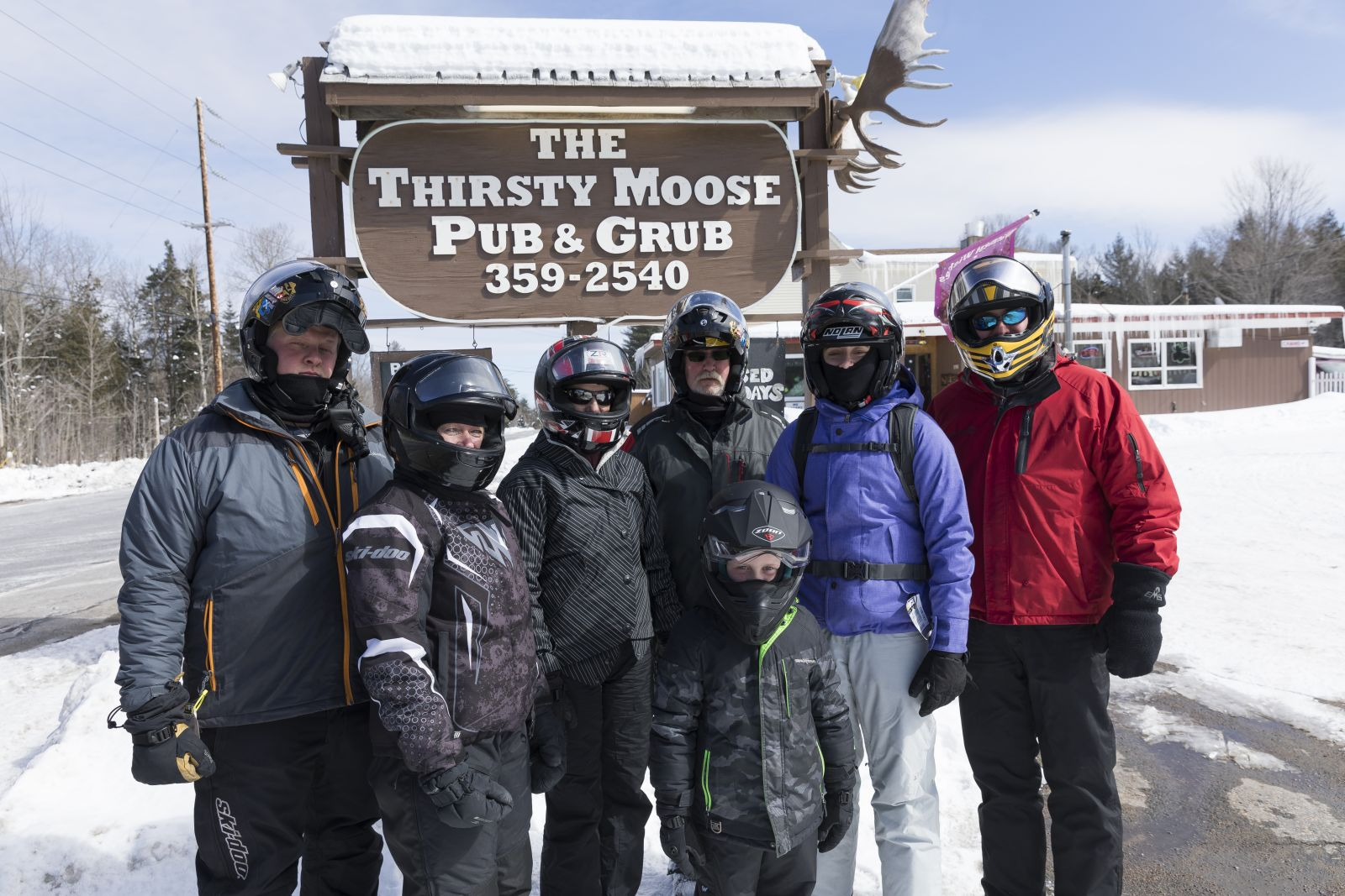 Try out The Thirsty Moose in Childwold for delicious food!