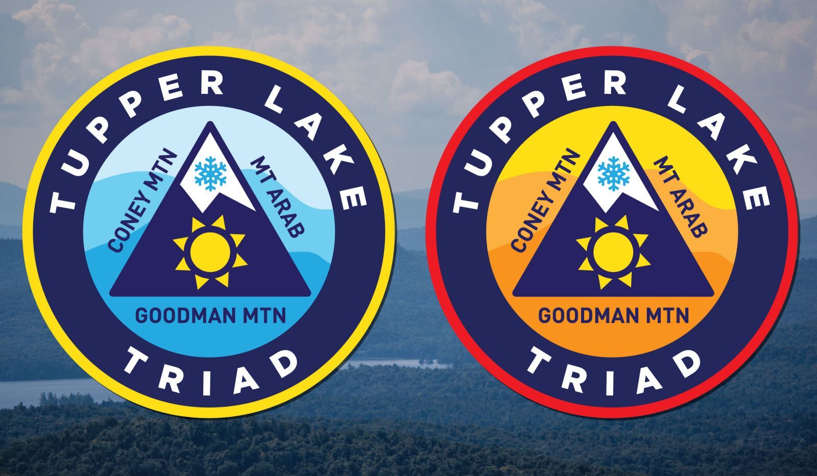Summer and winter patches are available when you complete the triad.