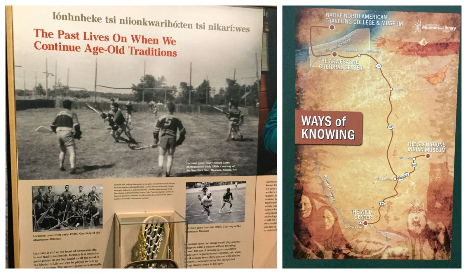 "Revealing Native American ""ways of knowing"" in four different places."