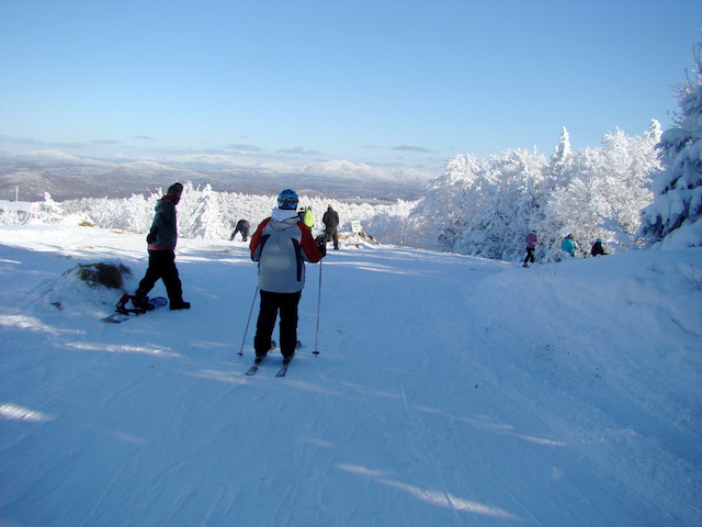 We have all levels of alpine skiing and even tubing for those who like to get their thrills while sitting down.