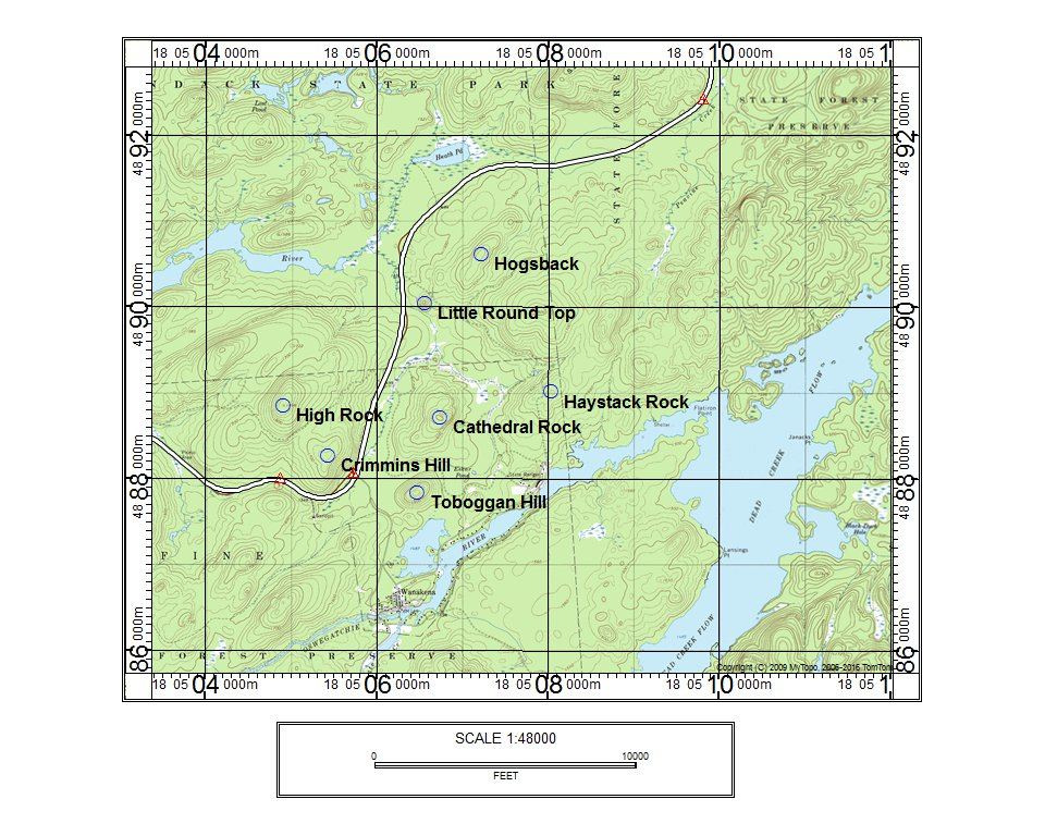 Suny Esf Campus Map.The Mountains And Ponds Of Ranger School Tupper Lake Adirondacks