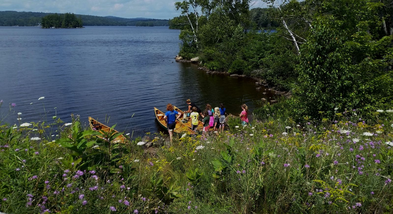 Tupper Lake and Raquette River are great for paddling and camping!