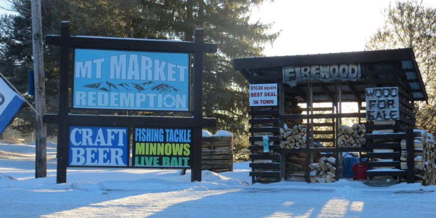Mountain Market for all your ice fishing needs!