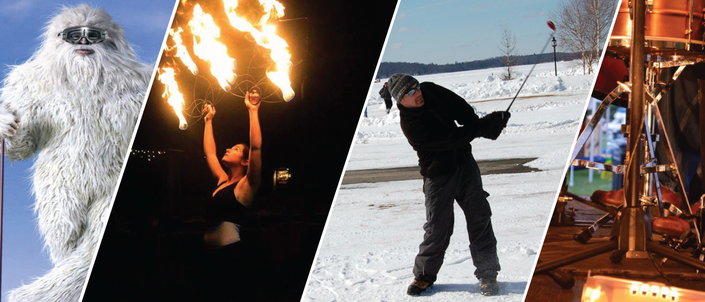 how to start fire with ice